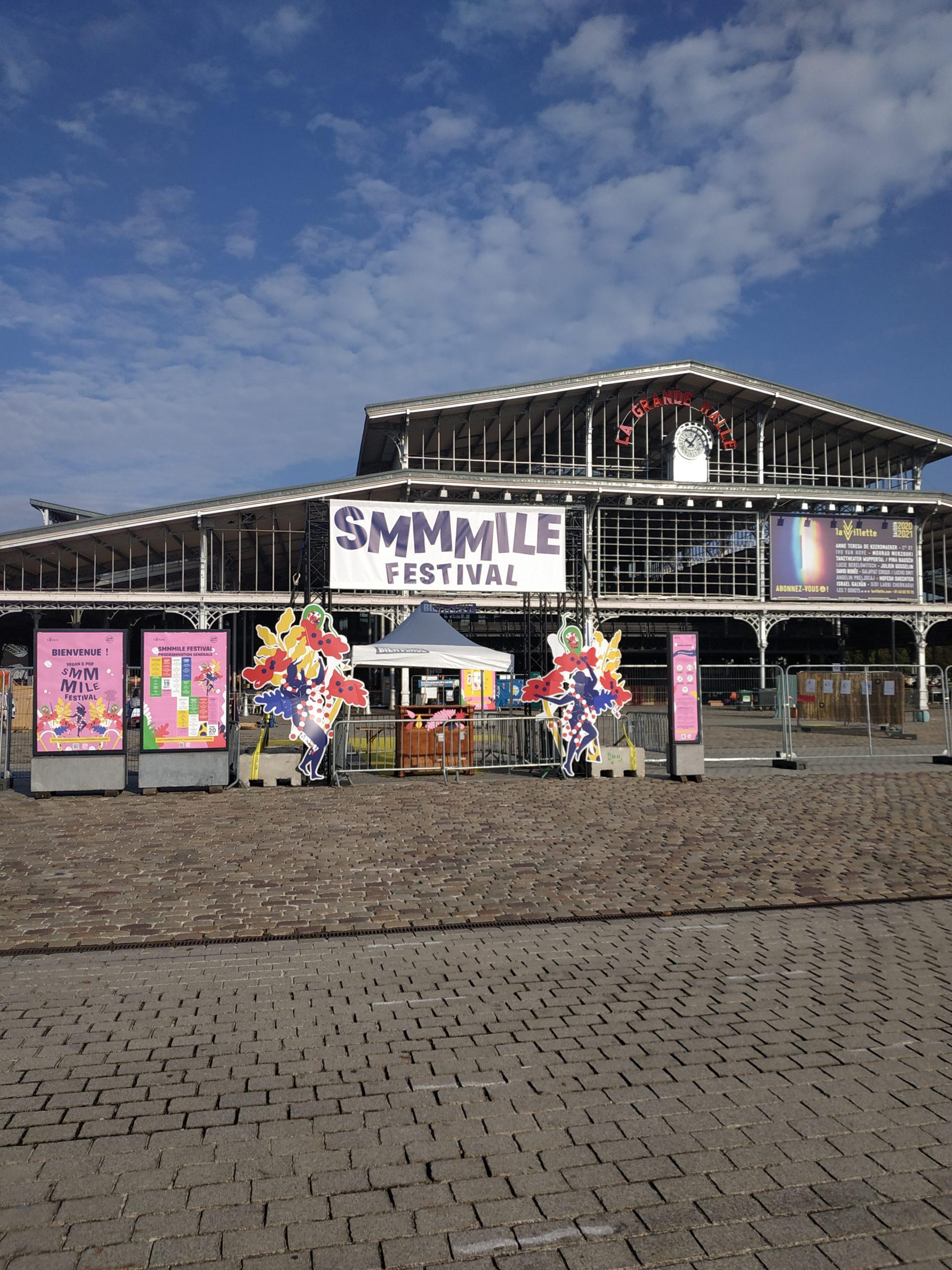 Avant ouverture @SMMMILE 2020 par Marine Weber